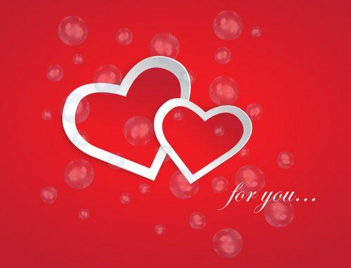 """Dites-lui """"Je T'aime"""" avec des bulles"""